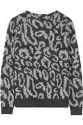 Fashion's penchant for leopard print shows no signs of fading - cozy up to the trend in By Malene Birger's relaxed fit sweater. Knitted with touches of alpaca and wool, this blanket-soft style is ideal for creating casual-cool looks - think leather shorts and simple flats.