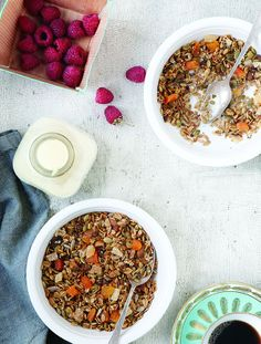 Apricot Pistachio Granola from Whole-Grain Mornings by Megan Gordon | canada.com