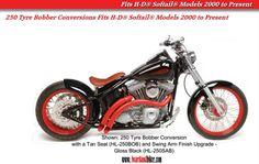 250 Tyre Conversion Fits all Harley-Davidson® Softail® Models 2008 to Present - Heartland USA® 2015 eCatalogue:    http://heartlandbiker.com/sources/downloads/HeartlandUSA-2015Catalog.pdf