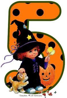 Halloween Letters, 5th Birthday, Tweety, Scrapbooking, Monogram, Holiday, Kids, Fictional Characters, Scrapbooks