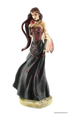 Jessica Galbreth Renaissance Rose Fairy Statue Figurine