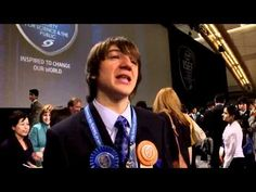 15 year old science prodigy Jack Andraka invented an entirely new way of detecting Pancreatic Cancer that may revolutionize Pancreatic Cancer detection, treatment and dramatically increase survival rates, which are devastatingly low. One of my heroes, Agi Hirshberg, would be so proud!What's best about this kid is that he is SO FRICKIN' EXCITED to win the prize