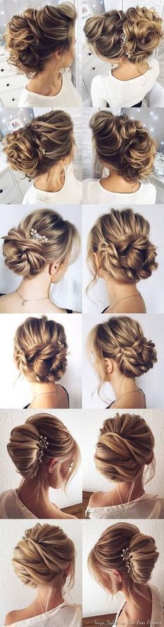 Idée Tendance Coupe & Coiffure Femme 2017/ 2018 : Wedding Hairstyles for Long Hair from Tonyastylist / www.deerpearlflow