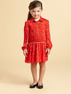 Juicy Couture Toddler's & Little Girl's Floral Shirt-Dress