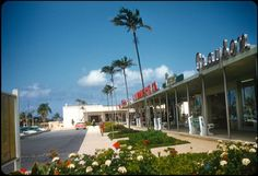 Sunrise Shopping Center, Ft. Lauderdale, FL 1956