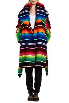Serape Coat by Mara Hoffman - I want!!!