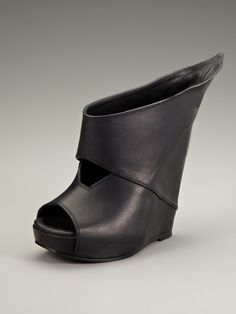 Winged Wedge Sandal by Rick Owens at Gilt