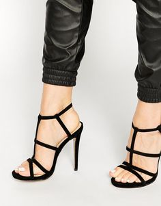 Truffle Collection | Truffle Collection Rita Strappy Heeled Sandals at ASOS