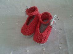#crochet #tejido #zapatos #bebe
