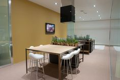 Estel Iberica Showroom, Barcelona, Conference Room, Table, Furniture, Home Decor, Decoration Home, Room Decor, Barcelona Spain