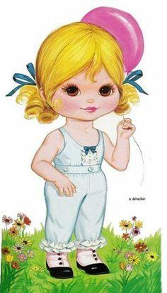 Bonecas de Papel: Lindas Bonequinhas (PLUS CLOTHING)
