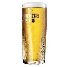 9th February 2013 ~ #DailyPint 40: Pint of Vier (by Becks). Glad I've got that one out of the way. 4/10 [Drank at home]