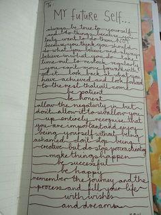sweet handwriting #diy