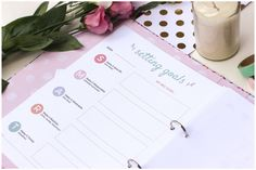 The Wonderful Mum - LIFE PLANNER is a collection of over 50+ unique printables to help you plan your life, set goals and get motivated.  If you are a busy mum on the go these printables are the perfect way to organise every area of your life. These sets are available for instant download and you will receive them within minutes of purchase straight to your inbox.  Print just the pages you need, customise your own planners and use your creativity to create a unique, one of a kind binder that…