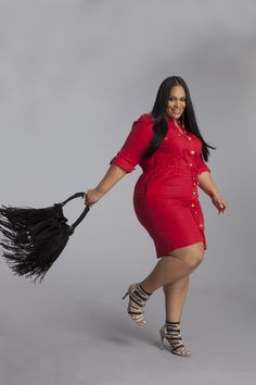"PLUS SIZE & CURVY FASHION - ""I love my curves because they make me unique and are the very definition on my beauty."" Vanessa Mays #AshleyStewart #LoveYourCurves"