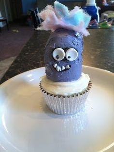 Purple Minion Cupcakes!! Despicable Me 2