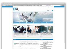 EFA Webauftritt