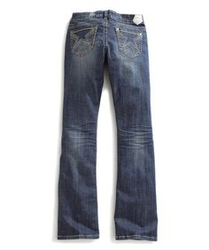 cea3b6fd2e3 Loving this Blue Star-Pocket Bootcut Jeans on #zulily! #zulilyfinds Tin Haul