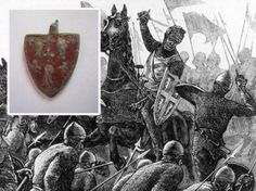 A 7th century harness pendant, found in a muddy Kinross-shire field near Loch Leven Castle, is believed to have belonged to Sir John Comyn, Lord of Badenoch, who was stabbed to death by his rival to the Scottish throne, Robert the Bruce, in 1306.