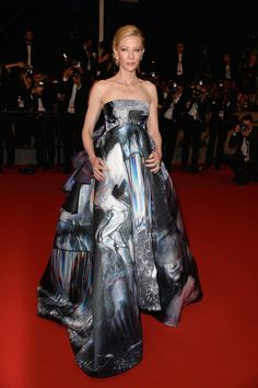 Cate Blanchett Strapless Dress - Strapless Dress Lookbook - StyleBistro