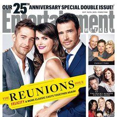 Felicity retrouve ses hommes sur la couverture du magazine Entertainment Weekly | HollywoodPQ.com