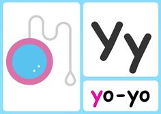 Y alphabet flashcards Sing The Alphabet, Alphabet Phonics, Alphabet Songs, Learning Phonics, Toddler Learning Activities, Teaching, Phonics Chart, Phonics Sounds, Uppercase And Lowercase Letters