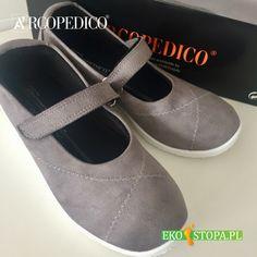 Buty damskie Arcopedico z wygodnym paseczkiem na rzep w stylu Mary Jane. Mary Janes, Sneakers, Shoes, Fashion, Tennis, Moda, Slippers, Zapatos, Shoes Outlet