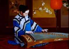 Pinturas de Xue Yanqun!