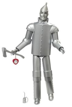 Check out the Barbie The Wizard of Oz Tin Man Doll at the official Barbie website. Explore all Barbie dolls and accessories now! Barbie 2014, Mattel Barbie, Barbie Dolls, Girl Barbie, Dolls Dolls, Art Dolls, Poupées Barbie Collector, The Collector, Tin Man
