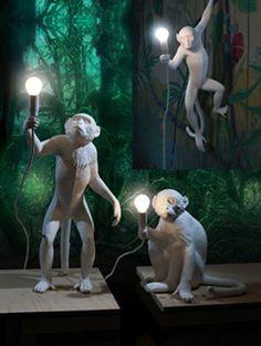 """Seletti """"Monkey"""" Lampen"""