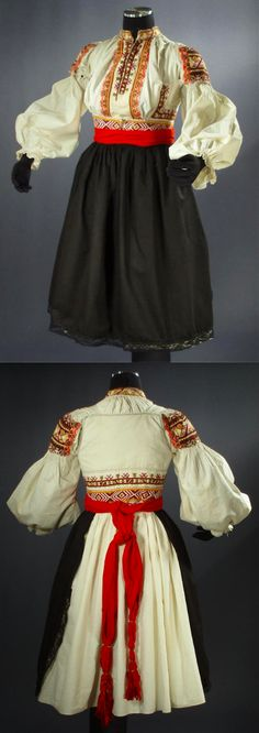 Folk costume from Hrozenkov, Czech Republic