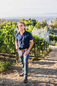 """Harvest on the hilltop's """"house of dreams.""""  Tour Villa Oneiro–one of our favorite local wineries with Palos Verdes-made pinot noir and chardonnay."""