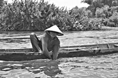 Fishing in Don Det - 4000 Islands, Laos. On location for Chefs Run Wild. — at Don Det - 4000 Islands, Lao.