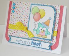 Pink and Main What a Hoot Photopolymer Clear Stamp Set