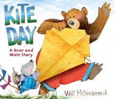 March 25, 2014. Bear and Mole build a kite and take it out on a windy day, but when the weather suddenly turns stormy there are unexpected consequences for some birds.