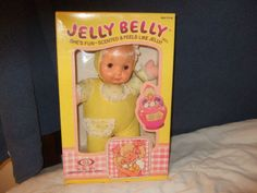 ATTENTION! anyone out there know where I can find a yellow jelly belly doll?  I had one as a little girl and would be ecstatic to have her again for my daughter? ??