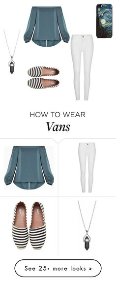 """""""Vincent"""" by keefesencen on Polyvore featuring BCBGMAXAZRIA, RED Valentino, River Island and Healing Stone"""