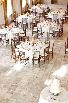Walnut Chiavari chairs...and that floor!