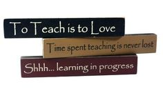 Teacher Appreciation Desk Signs - Set of 3
