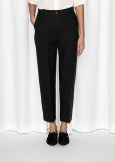 & Other Stories | Tailored Cotton Trousers