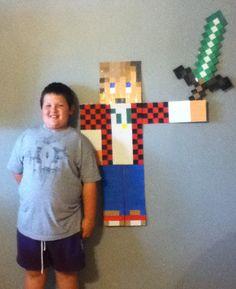 Best My Minecraft Wall Mason Minecraft Wall Minecraft Room 400 x 300
