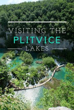 Visiting the incredible waterfalls and lakes of the Plitvice Lakes National Park, Croatia, on a trip between Zagreb and Zadar.