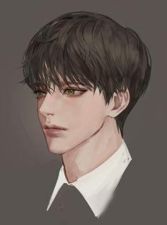 Digital Art Anime, Digital Art Girl, Cute Anime Boy, Anime Art Girl, Dark Anime Guys, Fantasy Art Men, Cute Art Styles, Handsome Anime Guys, Anime Sketch
