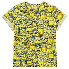 dcb9f6ba5e Kids Despicable Me Clothing UK: Sea of Minions T Shirt – noveltycharacter  Minionok, Fiú