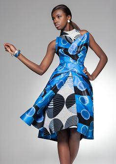 love everything about this Vlisco fashion look