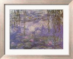 Nympheas Framed Art Print Claude Monet