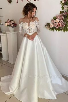 Wedding Dress Marks And Spencer Bridesmaid Dresses Mother Of The Bride Outfits 2018 Priyanka Chopra Gown Western Wedding Dresses – inloveshe Boho Wedding Dress With Sleeves, Western Wedding Dresses, Wedding Dress Train, Classic Wedding Dress, Long Sleeve Wedding, Bridal Wedding Dresses, Cheap Wedding Dress, Dream Wedding Dresses, Bridesmaid Dresses