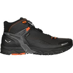 If you're looking for a trailblazer of a shoe that is light enough to make miles and won't break your knees on the downhill, look no further than the Salewa Men's Ultra Flex Mid GTX. Built in collaboration with Michelin, the GTX features a special rubber sole built for tearing up uneven terrain.