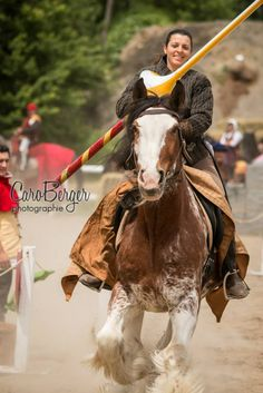 Myriam Guèvremont of Canada (photo by Caro Berger - Photographie)  -The Jousting Life