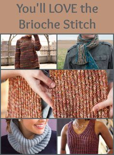 You'll love learning how to knit the brioche stitch and practicing with these 5 FREE brioche knitting patterns. #knitting #knittingpatterns #brioche